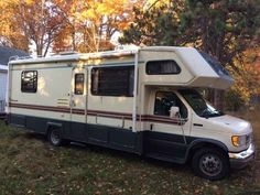 "1993 Used Gulf Stream Yellowstone Class C in New Hampshire NH.Recreational Vehicle, rv, 1993 Gulf Stream Yellowstone , Must sell 1993 28' or 29"" Gulf Stream Yellowstone Class C Motor home on Ford E 350 8 Cyl 460 Gas motor Approx 42,000 miles this unit was top of the line for year and the motor has plenty of HP to get up the hills. Private rear bedroom queen size 2 adults Area that hangs over front cab of truck can sleep two adults. Kitchen table turns into a bed (1 teen or 2 small children)…"