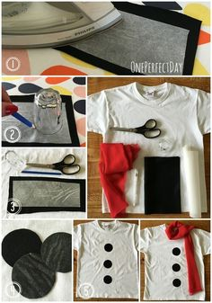 How to make a DIY snowman costume for kids                                                                                                                                                                                 More