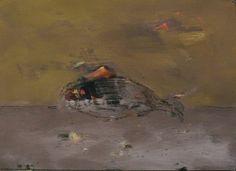 """""""Dirigible-fish"""" Техніка: #cardboard, #acrylic ( #картон, #акрил)  Розміри: 42x68  #Живопис Рік створення:2015 Дирижабль-рыба"""