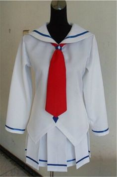 Vicwin-One Guilty Crown Ouma Mana Summer Uniform Cosplay Costume -- Find out more about the great product at the image link.