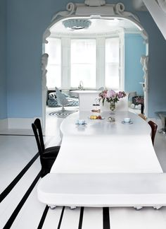 DINING ROOM  l  by London-based interior designer Danielle Moudaber