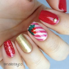 christmas by nailistayco #nail #nails #nailart
