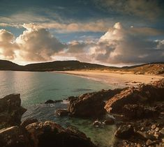 Britains best Beaches. The beach at Huisinis, North Harris, Outer Hebrides.