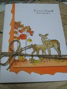 Kartenfenster: Herbstgrüße - In the Meadow