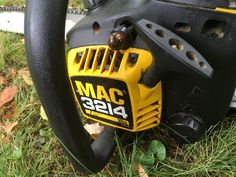 MINT McCulloch 3214 32cc Gas Chainsaw Trees Branches Contractor Fall Clean Up  #McCulloch