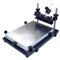 Screen Printing Machine, Screen Printer, Silk Screen Printing, Aluminum Screen, Welding Equipment, Drafting Desk, Manual, Soldering