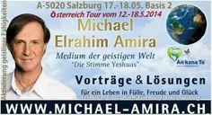 Michael Elrahim Amira - Österreich Tour 12.-18.5.2014  Feldkirch, Graz, Wien, Salzburg  http://www.alltafander-ilseja-academy.com/event-organisation-michael-elrahim-amira