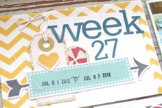 Mish Mash: Project Life Week 27....where I fit 51 photos into my week!