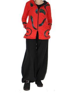Cette veste originale du Népal est doublée polaire. Existe en plusieurs coloris sur www.akoustik-online.com This original jacket of Nepal is fleece lined . Available in several colors on www.akoustik-online.com
