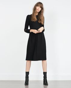 ZARA - SALE - LACE APPLIQUÉ DRESS