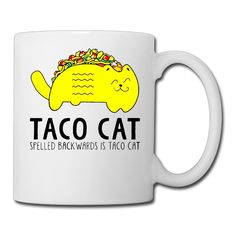 Cinco De Mayo Taco Cat Picture Ceramic Travel Coffee Mugs ** Discover this special cat product, click the image : Cat mug