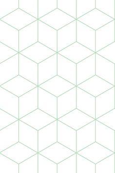 Zilverblauw • wallpaper-hexagonal-green #zilverblauw