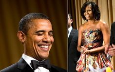 President Barack Obama and First Lady Michelle Obama attends the 98th Annual White House Correspondents' Association Dinner in Washington, DC.
