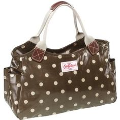 Cath Kidston is kitsch that I love. (Polka dotted tote)