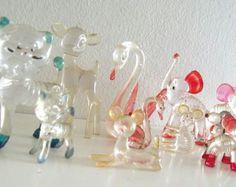 Bella's Glass animal ornaments