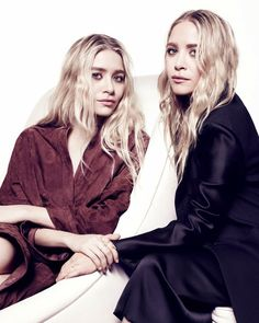 The Olsens in the Edit wearing their Ileana Makri snake rings and bar rings... buy on Net-a-Porter now.