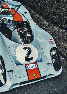 Porsche 917 in Gulf colors