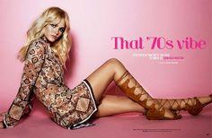 Erin Heatherton stars in a fashion editorial for Cosmopolitan Australia