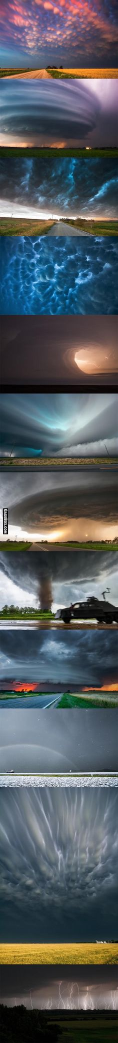 Severe Skies - The Photography of Storm Chaser Mike Holl - #nature #gagsbox