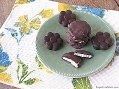 Homemade Peppermint Patties {No Added Sugar}