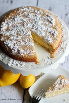 Delicious Lemon Cake Recipe #recipe