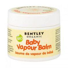 Dziecięcy ORGANICZNY Balsam Ułatwiający Oddychanie - Na Przeziębienia Bentley Organic Toddlersi