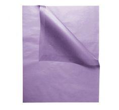 Säurefreies Seidenpapier, 50 x 75 cm, Flieder. Dieses säurefreie Seidenpapier ist ideal für die langfristige Aufbewahrung von empfindlichen und hochwertigen Kleidungsstücken, z.B. Hochzeitskleidern, Abendkleidern o.ä.  Das Papier bietet ebenfalls einen praktischen Schutz im Koffer bzw. für alle Schubladen sowie Innenflächen von Schränken und kann leicht auf die gewünschte Größe zurechtgeschnitten werden. Tintensicheres Papier. Maße: 50 x 75 cm / Gewicht: 17g/qm. Ab 0,35€/Bogen