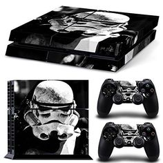 GoldenDeal PS4 Console and DualShock 4 Controller Skin Set -Star Warrior - PlayStation 4 Vinyl GoldenDeal http://www.amazon.com/dp/B015QM35R6/ref=cm_sw_r_pi_dp_v30Dwb02CZ7CA