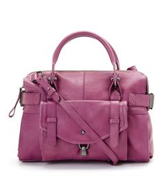 Love this Lilac Rose Kendal Leather Satchel by Kooba on #zulily! #zulilyfinds