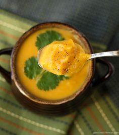 Thai Curried Butternut Squash Soup   http://www.garnishwithlemon.com/thai-curried-butternut-squash-soup/