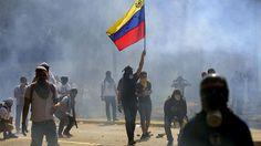 Nueva jornada de violencia en Venezuela #news