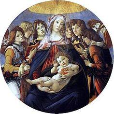Sandro Botticelli - Renaissance - La Vierge à la Grenade - 1487