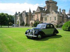 """""""Glenapp Castle"""", Ballantrae, in der schottischen Grafschaft Ayrshire. 1870 erbaut, erwarb den Besitz 1917 der Erste Earl of Inchcape. Heute fühlen sich hier die Gäste wie Lords und Ladies."""