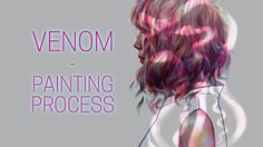 Venom - Digital Art Timelapse - Weroni Art
