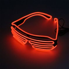Men's Eyewear Frames Apparel Accessories Trustful Led Glasses Light Up Shades Flashing Rave Wedding Party Eyewear Luminous Glowing Night Shows Decors Activities Christmas Supply Evident Effect