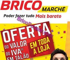 Antevisão Promoções Bricomarché - Oferta do Valor do Iva em talão em toda a loja - dia 17 de Janeiro