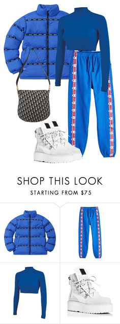 """""""Sans titre #342"""" by a4styled ❤ liked on Polyvore featuring Vetements, Chassè, Puma and Christian Dior"""