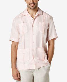 Cubavera Short-Sleeve 4-Pocket Guayabera Shirt