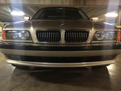 '98 BMW 740i with new grilles and headlight assemblies, 2014.
