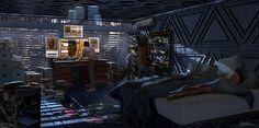 Blade Runner redesign, Nathaniel Pengson on ArtStation at https://www.artstation.com/artwork/blade-runner-redesign