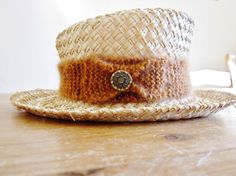 Hat band Summer Hat Band Ladies Accessories Womens by OnePurlRow