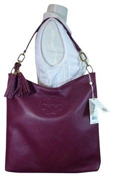 e99fc670d8a Thea Cabernet Burgundy Ns Burgundy Leather Tote. Tory BurchBurgundyTote BagCarry  ...