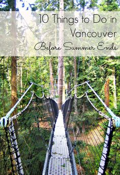 A fun and active list of ten things to do in Vancouver before the summer ends. Number 6 is one of my favorites!   vancouver travel tips   summer vacation   thetravellingmom.ca Vancouver Things To Do, Summer Travel, Travel With Kids, Family Travel, Vancouver Travel, Vancouver Island, Vancouver City, Travel Advice, Travel Guides