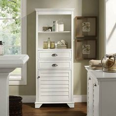 Perfect bathroom storage cabinet tall made easy