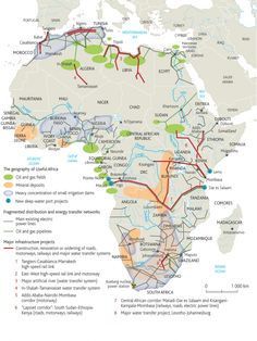 Map of Africa's Resources