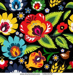 Traditional Polish folk floral pattern vector   art, background, black, card, color, colorful, culture, cutout, decor, decoration, decorative, design, drawing, embroidery, ethnic, fashion, floral, flower, folk, green, hungarian, illustration, isolated, national, old, ornament, ornate, paper, pattern, poland, polish, postcard, repeat, repetitive, retro, seamless, seasonal, slavic, symbol, texture, tradition, traditional, vector, vibrant, wallpaper