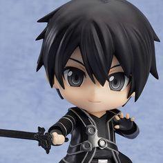 Figures & Dolls / Chibi Figures / Nendoroid Sword Art Online Kirito (Re-release)