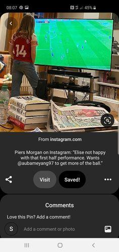 Piers Morgan, Ads, Instagram