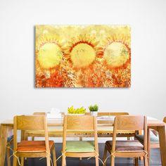 SŁONECZNIKI MIXGALLERY flowers,sunflower,wallart,canvas,canvas print,home decor, wall,framed prints,framed canvas,artwork,art