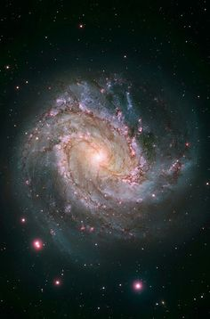 HST. .A Great Princess. . This view of Messier 83 shows new Hubble data…